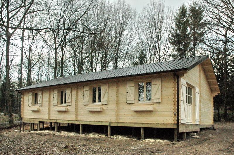 maison en bois massif tis m02  roumanie  bois
